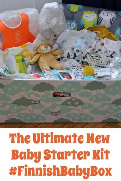 The Ultimate New Baby Starter Kit #FinnishBabyBox