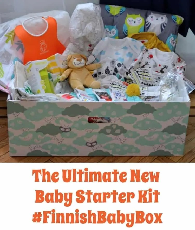 The Ultimate New Baby Starter Kit | #FinnishBabyBox #baby