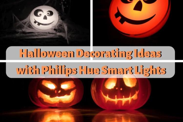 Halloween Decorating Ideas with Philips Hue Smart Lighting
