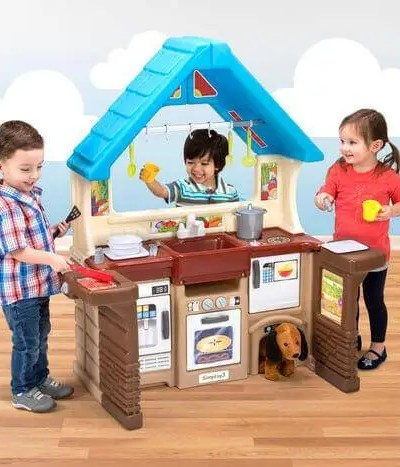 Simplay3 Garden View Kitchen and Carry & Go Track Table