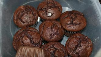 Awesome Super Chocolaty Chocolate Cupcakes Recipe