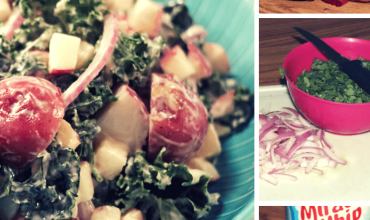 Kale & Apple Potato Salad Recipe, Perfect For Memorial Day!
