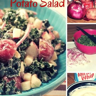 Kale & Apple Potato Salad Recipe, Perfect For Memorial Day!