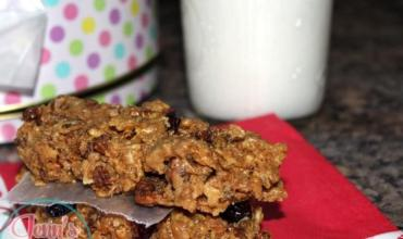 #MorningEnergy Chocolaty Peanut Butter No Bake Cereal Bars Recipe