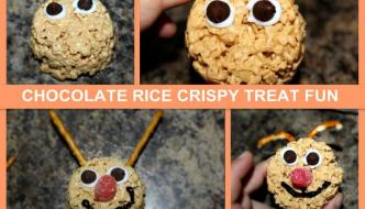 Three Awesome Rice Crispy Treats Recipes – With Chocolate!