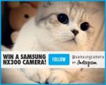 Enter to WIN a Samsung NX300 Camera and a Samsung DV150F Camera DAILY