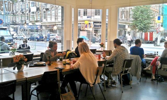Werkplekken in Amsterdam