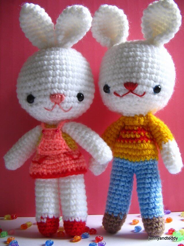 30 Free Easy Easter Crochet Patterns