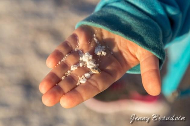 salt from Badwater Death Valley