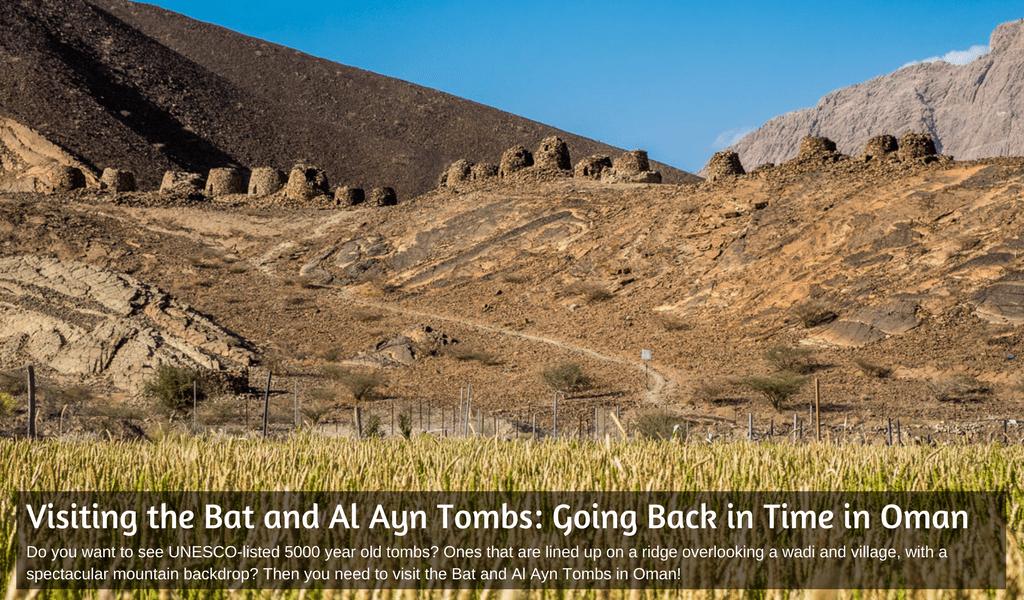 Al Ayn Beehive Tombs in Oman