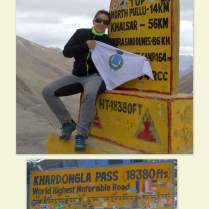 Kardong La Pass (5603 mt)