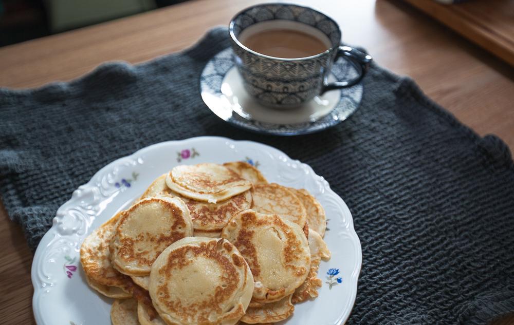 Frukost med plättar