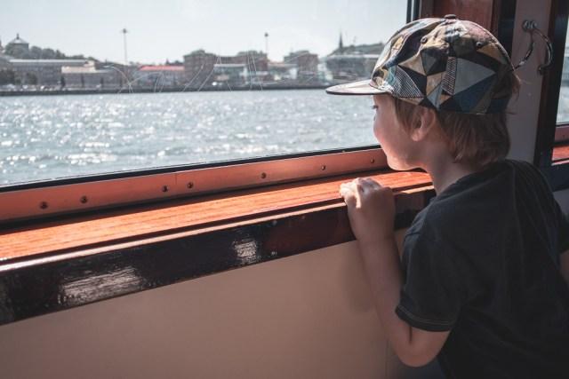 saker att hitta på med barn i Göteborg skärgårdsbåt