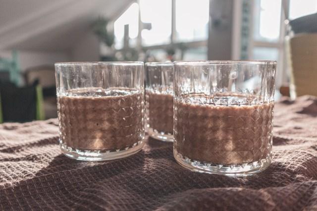Nyttig chokladmilkshake