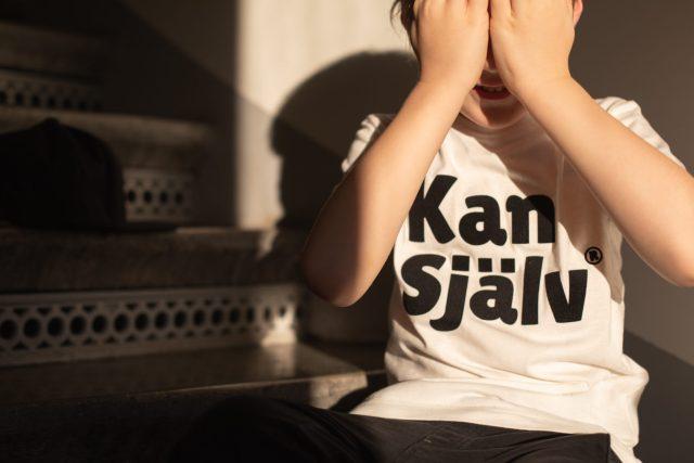 Kan själv, barnkläder, t-shirt, ekologiskt