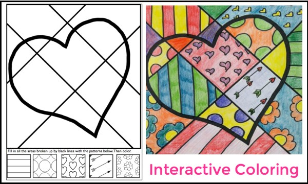 interactive coloring pages # 4