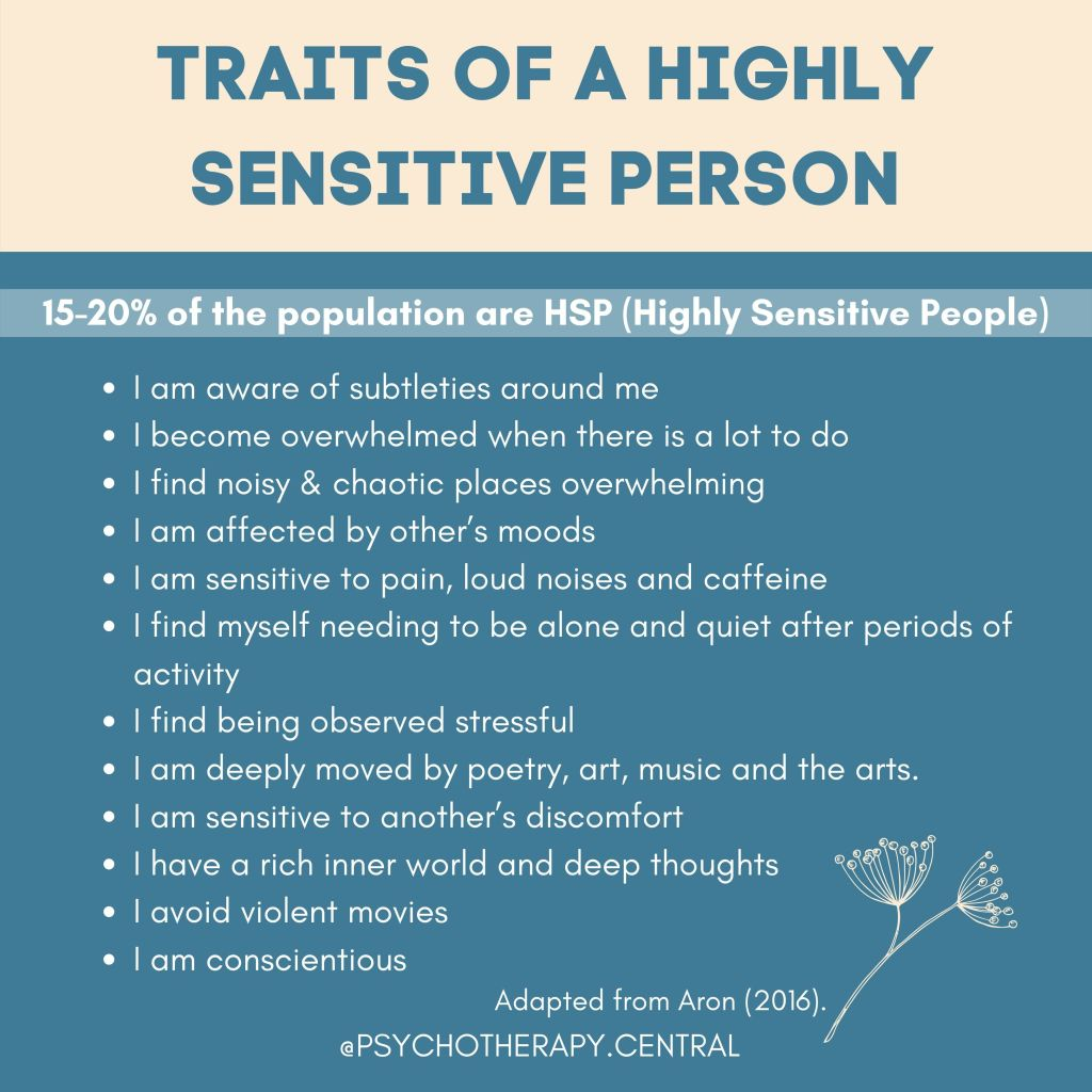 Traits of a Highly Sensitive Person