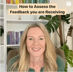How to asses the feedback you are receiving