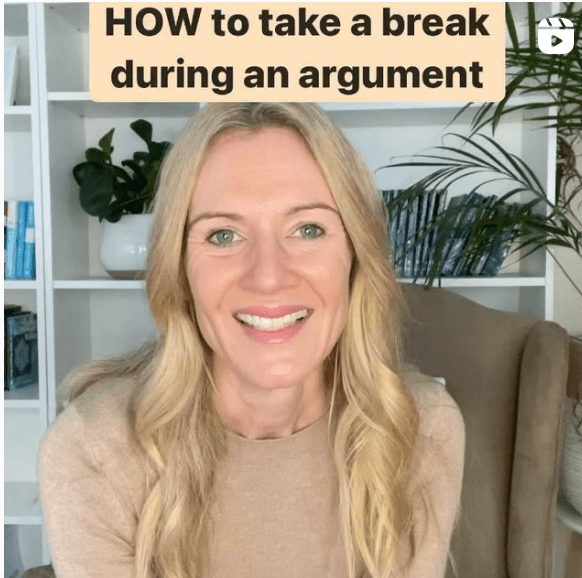 how to take a break during an argument