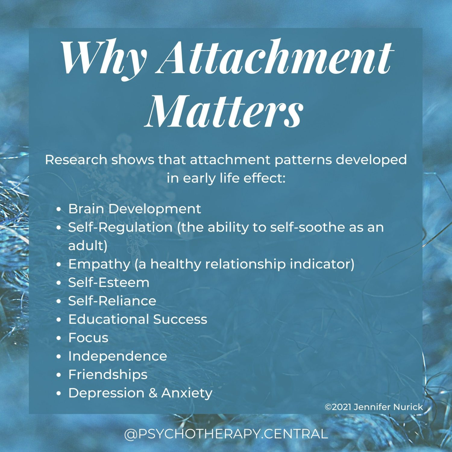 Why-Attachment-Matters