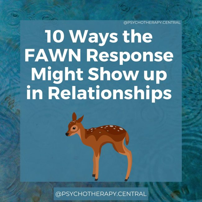 10 Ways the FAWN Response Might Show up in Relationships