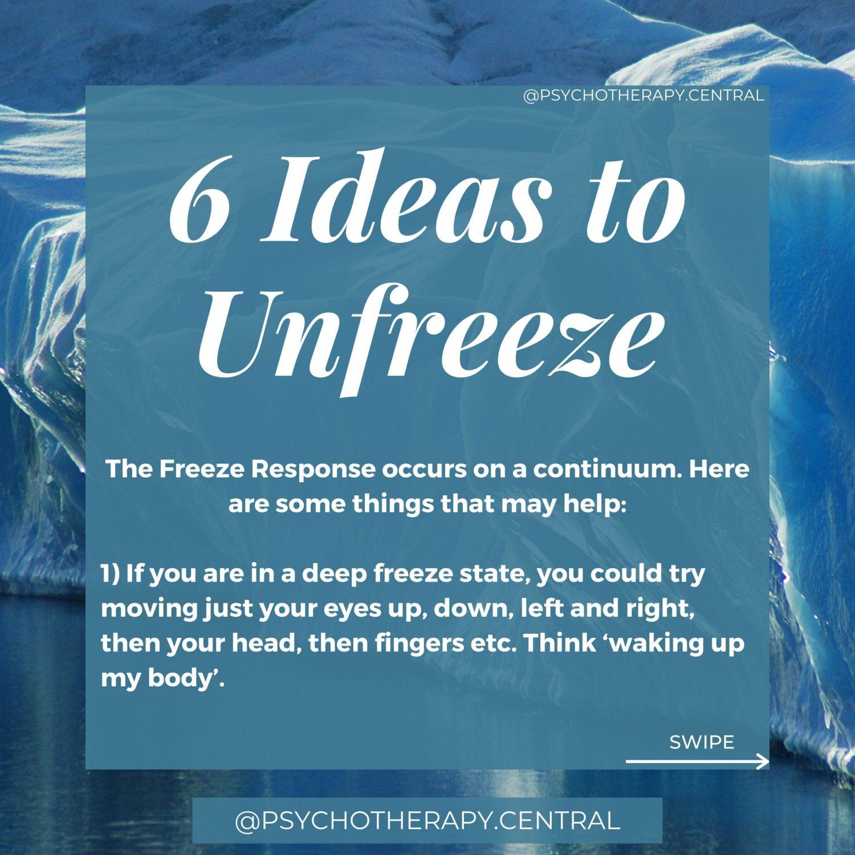 6 ideas to unfreeze