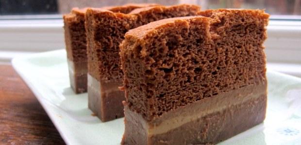 巧克力魔术卡士达蛋糕 Chocolate Magic Custard Cake