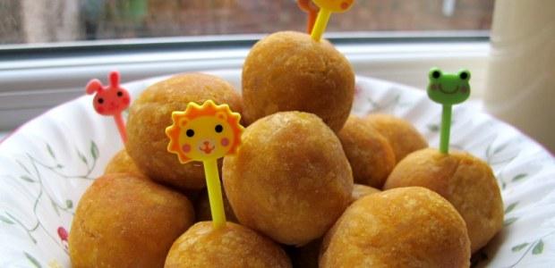 贺岁黄金番薯年糕蛋 Sweet Potato Sticky Cake Ball