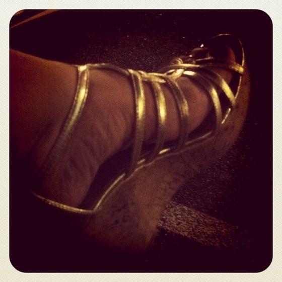 Gold. Cork. Heels. Mine.