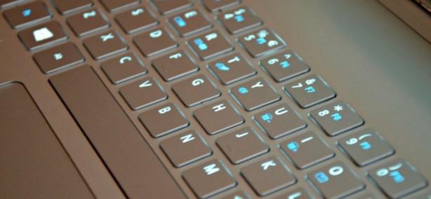 Acer Aspire S7 Ultrabook has illuminated keys