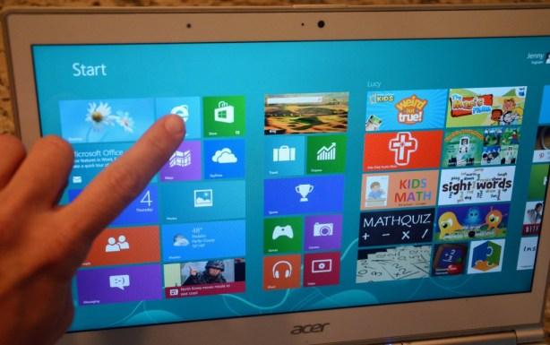Acer Aspire S7 Ultrabook is a touchscreen