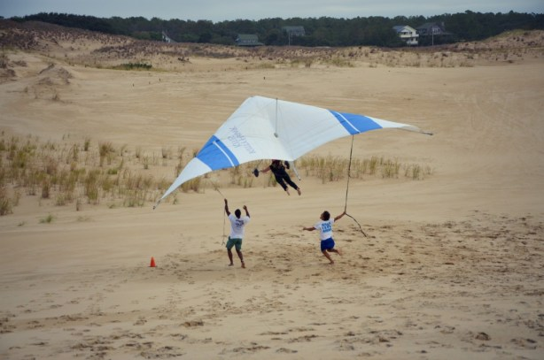 Hang gliding with Kitty Hawk Kites!
