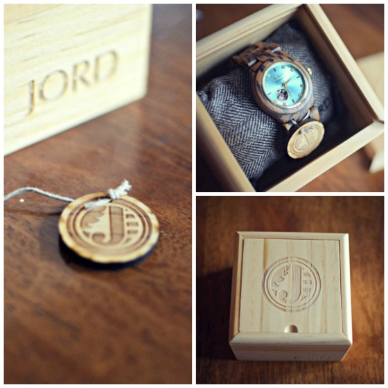 Beautiful wood watches by Jord