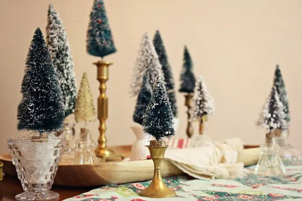 Miniature Christmas Tree Craft via @jennyonthespot