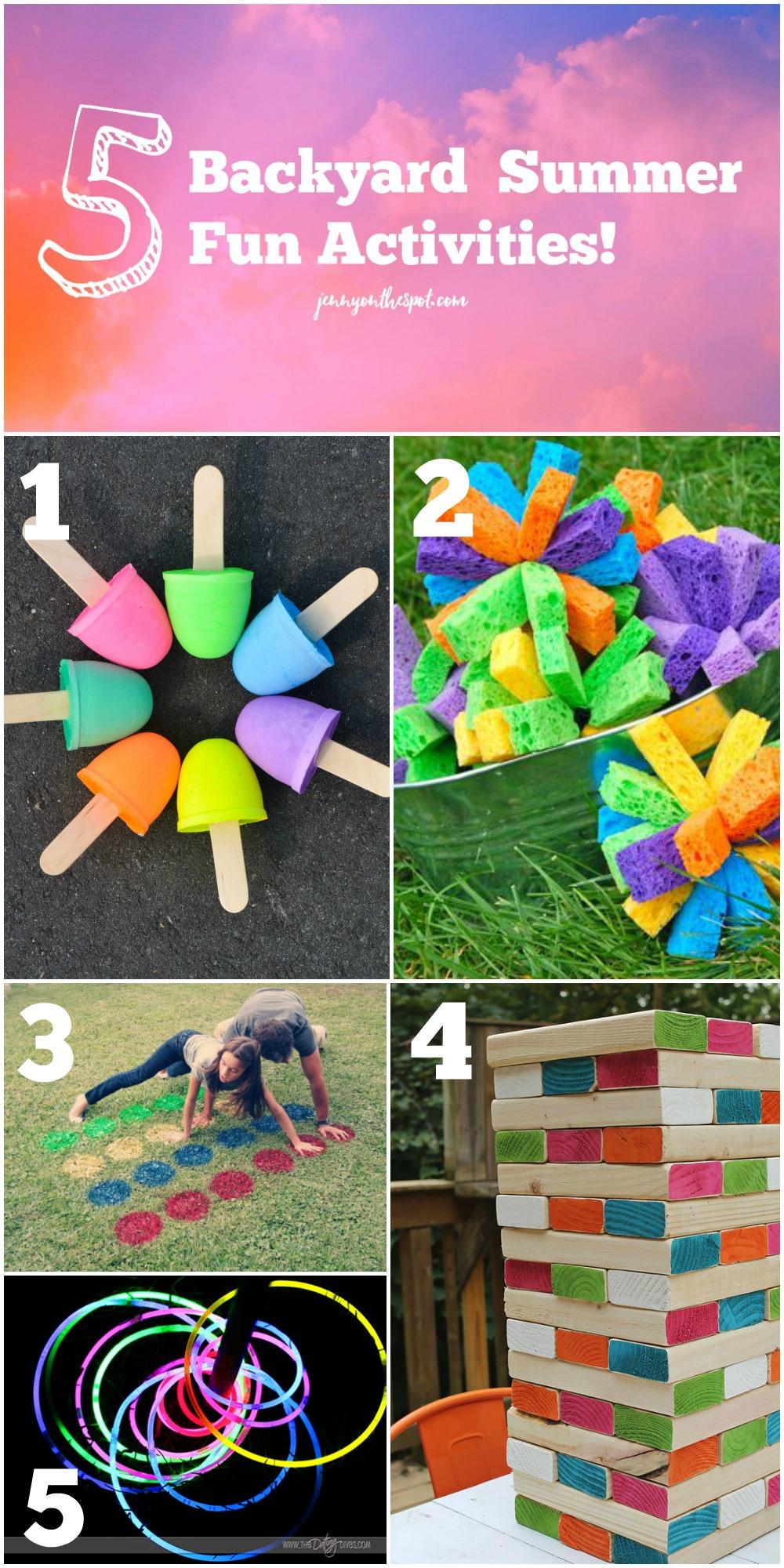 5 Backyard Summer Fun Activities (jennyonthespot.com)