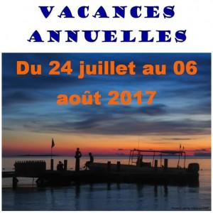 vacances 2017