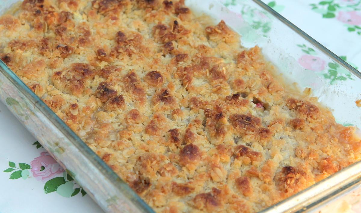 recept rabarberpaj
