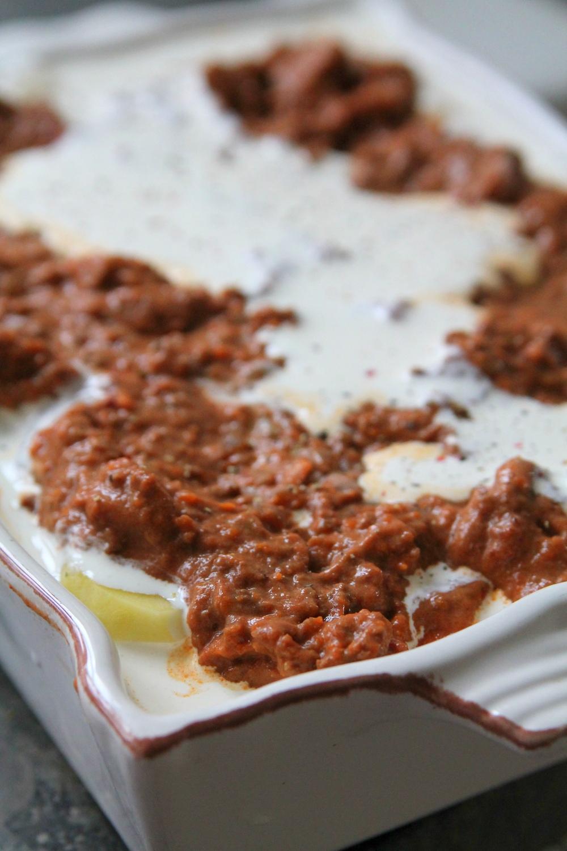 Köttfärsgratäng