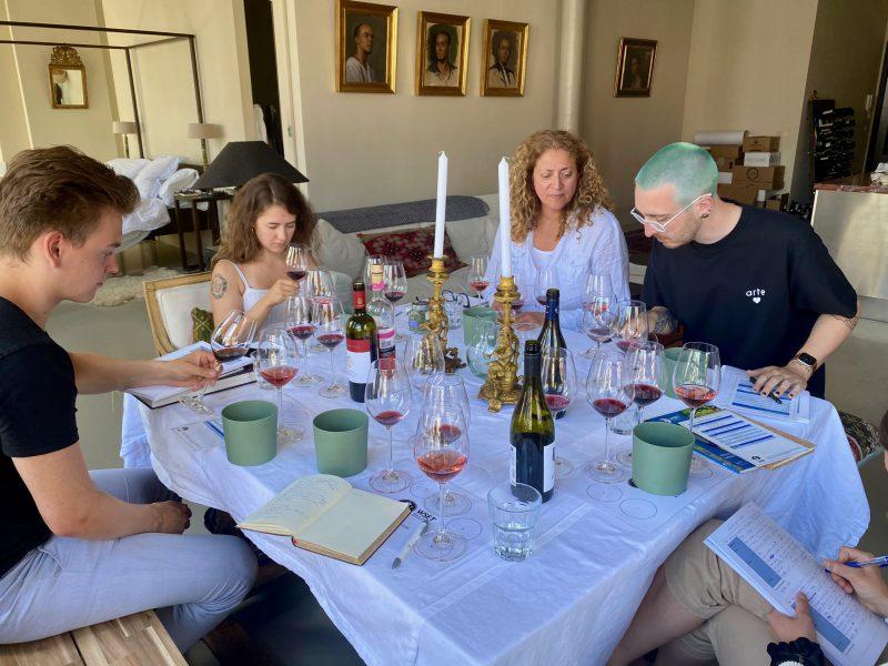 WSET wijncursus wijnproeven