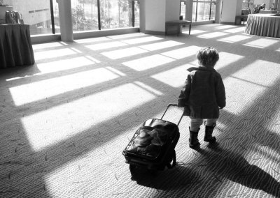 What To Do When Your Five-Year-Old Packs His Bags?