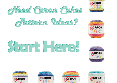Do you need Caron Cakes pattern ideas?  Stop here first!