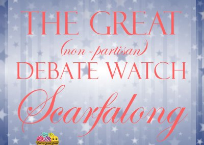 The Great (Non-Partisan) Debate Watch Scarfalong