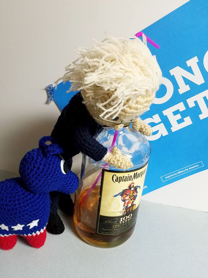 Crochet Bernie Sanders