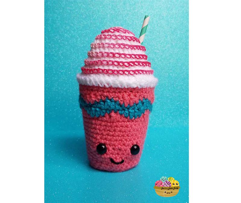 Crochet Unicorn Frappuccino