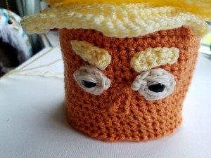 Trump Toilet Paper Cover Crochet Pattern