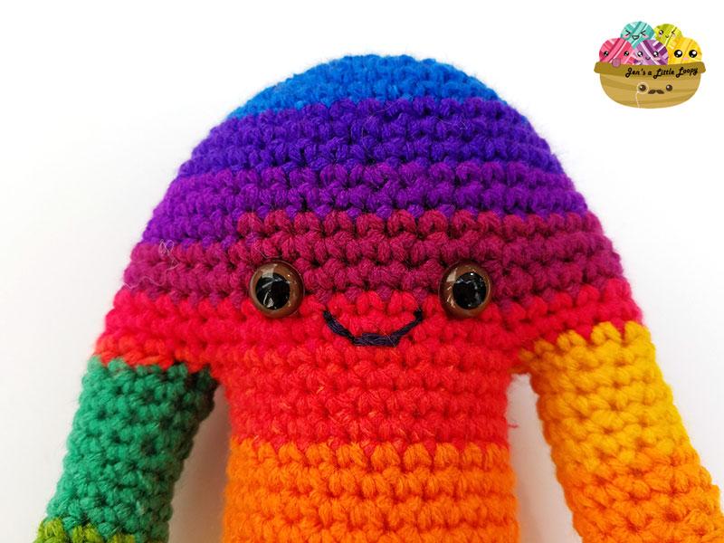 Hugamonster Crochet Monster Pattern