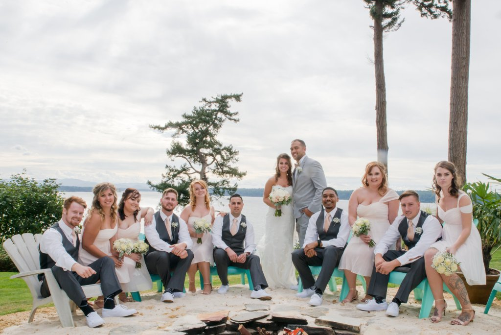 Wedding Party, Gig Harbor, Wedding Party