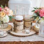 Coral, Navy & Sage Canterwood Wedding