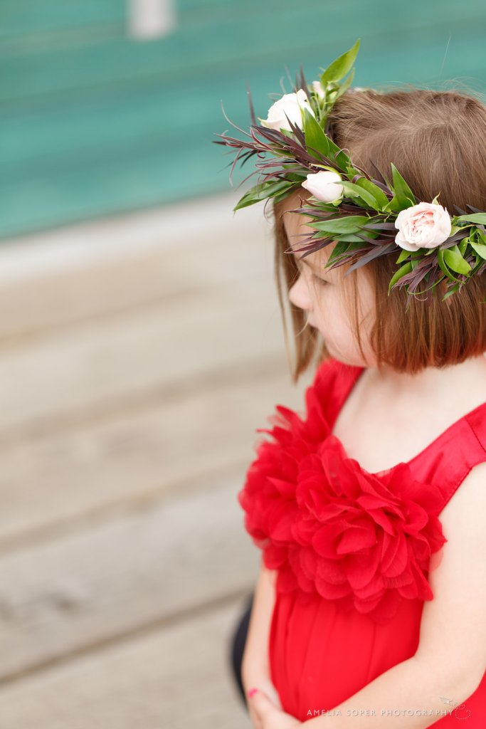 Flower Girl Crown by Jen's Blossoms