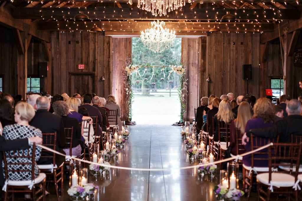 Kelley Farm indoor ceremony